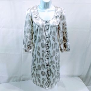Express S Dress Animal Print Shift Shirt Tunic Min
